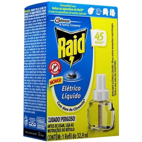 RAID 45 NOITES CITRO REFIL
