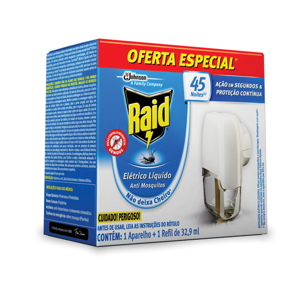 RAID 45 NOITES PROTECT APARELHO