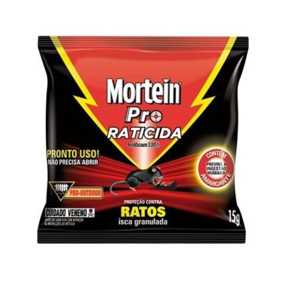 RATICIDA MORTEIN 15G