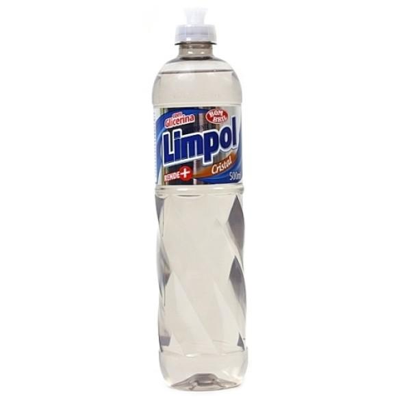 DETERG. LIMPOL CRISTAL 500ML