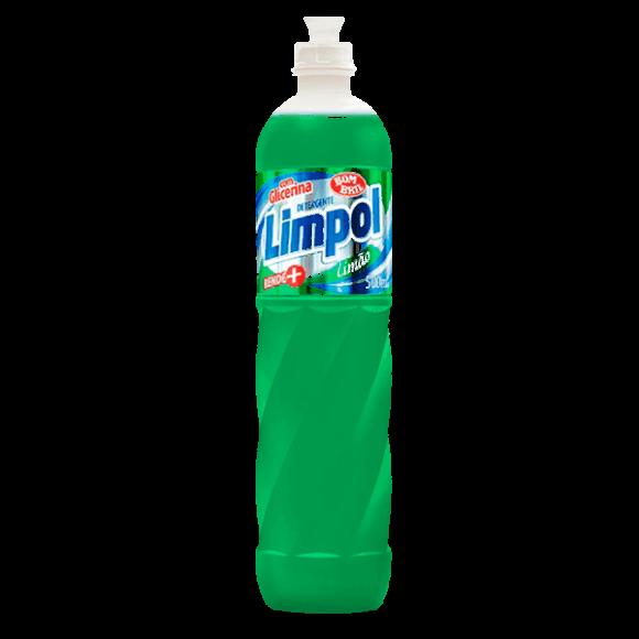 DETERG. LIMPOL LIMÃO 500ML