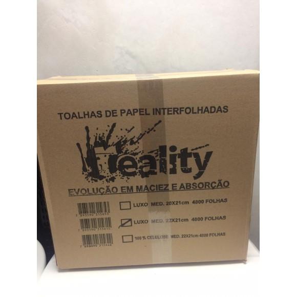 PAPEL TOALHA 2D FS 100%CEL REALITY C/4800