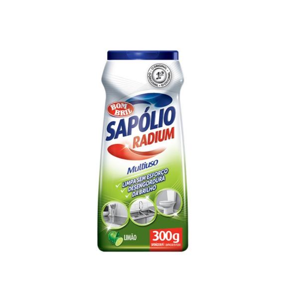 SAPOLIO PO RADIUM LIMAO 300GR