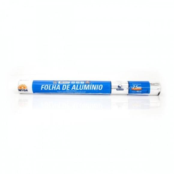 PAPEL ALUMINIO WYDA 45X7,5M
