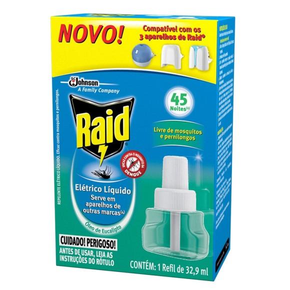 RAID 45 NOITES EUCALIPTO REFIL
